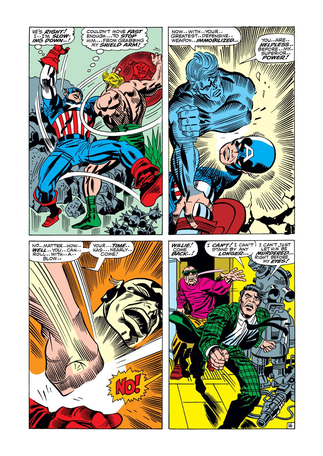 Captain America (1968) Issue #106 #20 - English 17