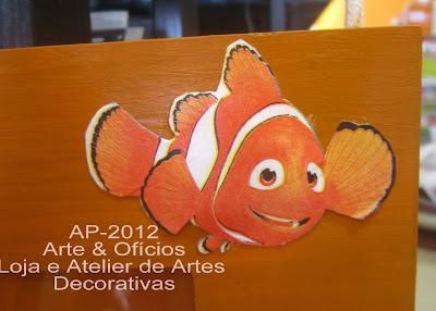 Moldura Nemo: decoupage 3D Canon2+154