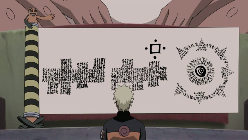Naruto Shippuden 220 The Great Toad's Prediction or Propehcy of the Great