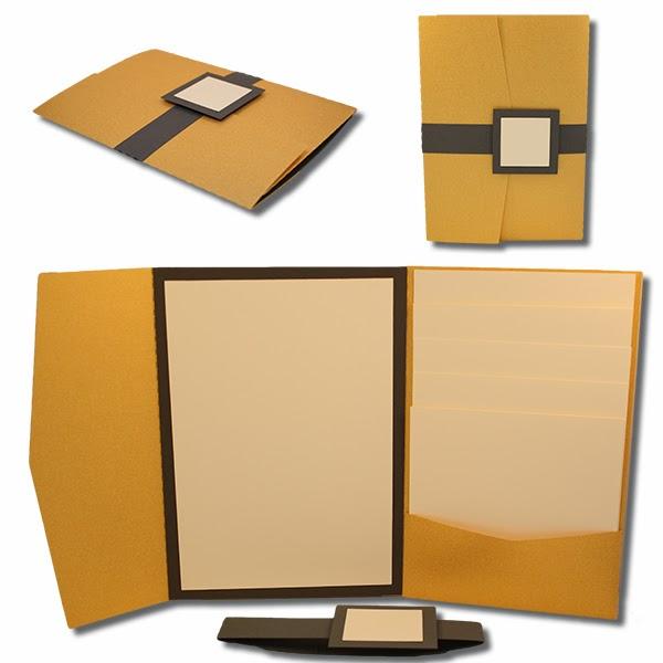 bits of paper 5x7 wedding invitation sets