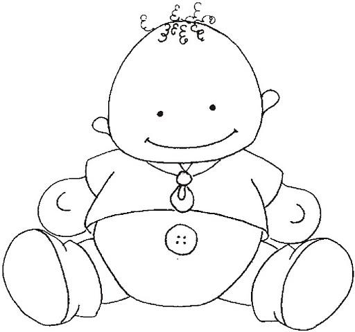 Molde bebé goma eva baby shower - Imagui
