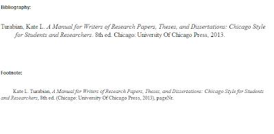 Turabian thesis footnote