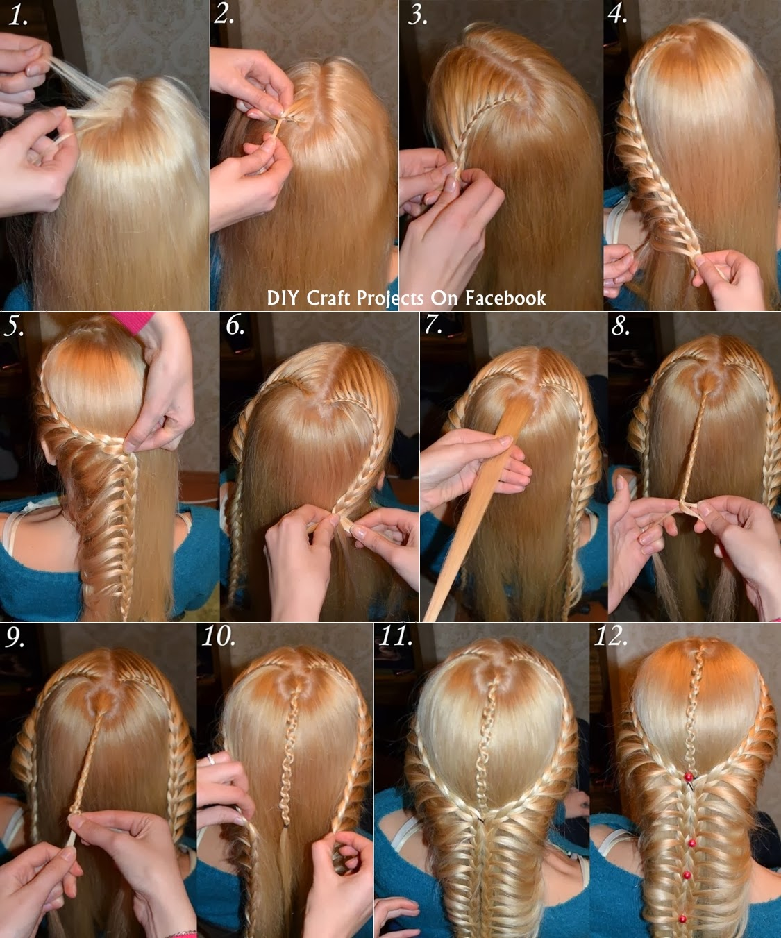 Cool Braids for Long Hair Step by Step