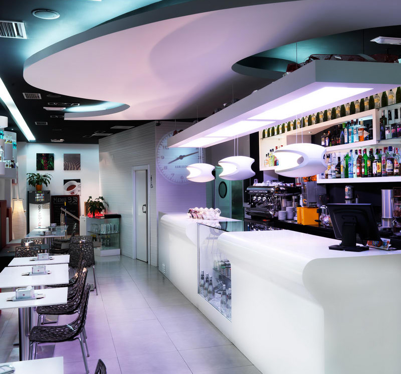 Porcelanosa group projects artespresso in valencia for International decor surfaces