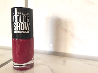 Maybelline Colorshow Limited Collection Sweet Spicy Crushed Cayenne