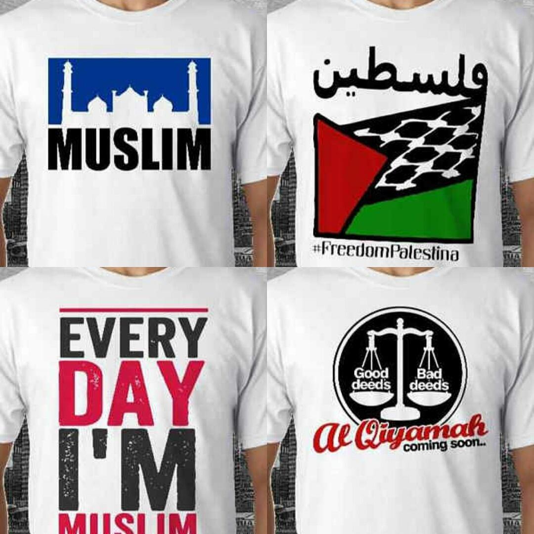 T-Shirt Kaos Islami
