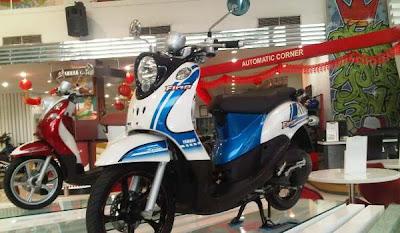 Motor Matic Injeksi Yamaha Fino Retro