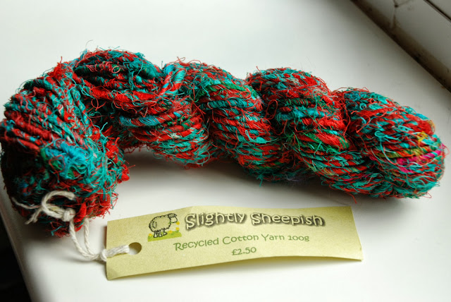 image of colourful cotton yarn.