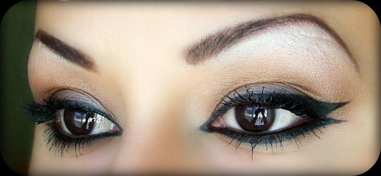 rihanna eye makeup tutorial. Rihanna Makeup Tutorial using