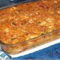 Chicken Reciep Tex-Mex Chicken Spaghetti Casserole