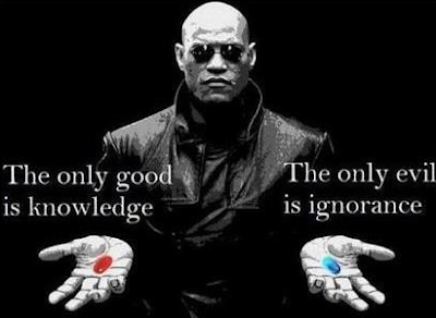 The only good is knowledge. The only evil is ignorance. Wake Up World!