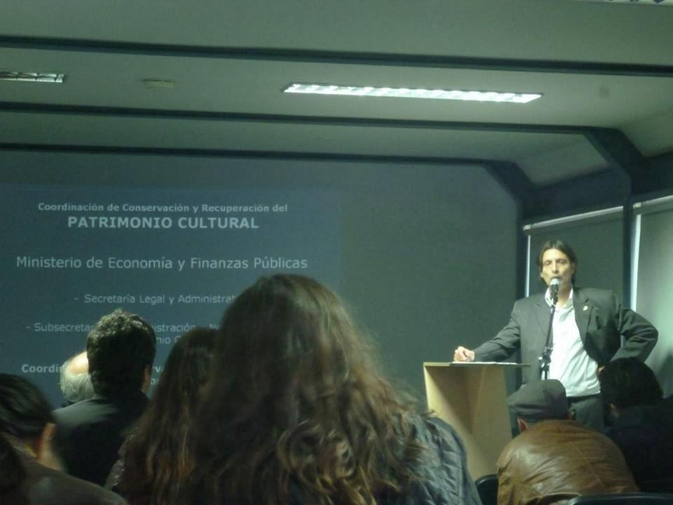 Lic. Mario Naranjo. Ministerio de Economía. Argentina.