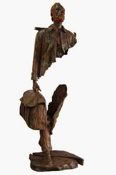bruno catalano esculturas invisíveis corpo rasgado buraco transparente arte viagem