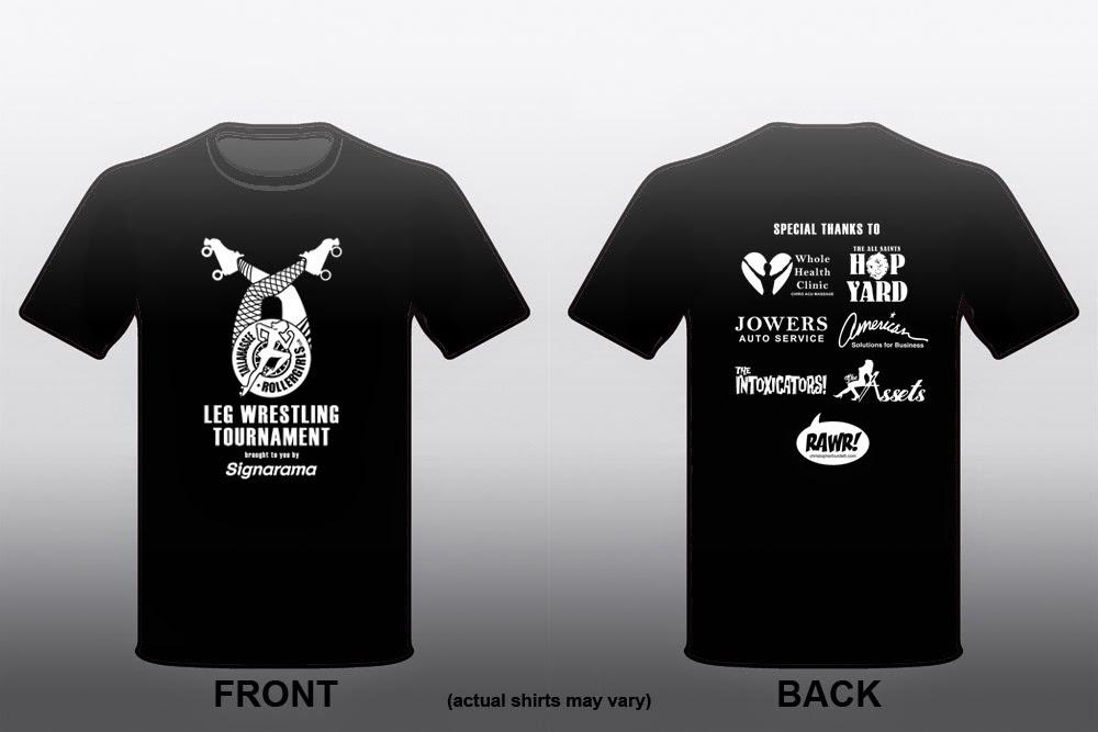 The doodles designs and art of christopher burdett for Wrestling tournament t shirt designs