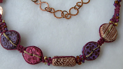 KayzKreationz Wonky Beads Necklace