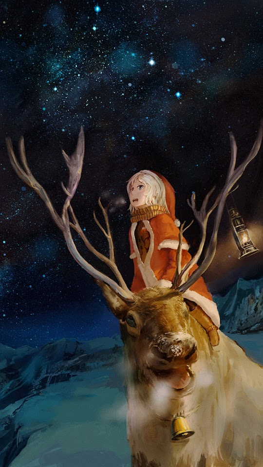 Rudolf Reindeer Christmas  Galaxy Note HD Wallpaper