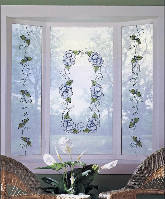 Benita faq peindre sa porte vitr e - Peindre sur une vitre ...