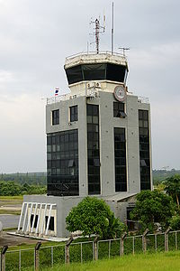 The tower of Krabi International Airport