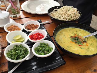 Khao Suey at Asian Box Pune