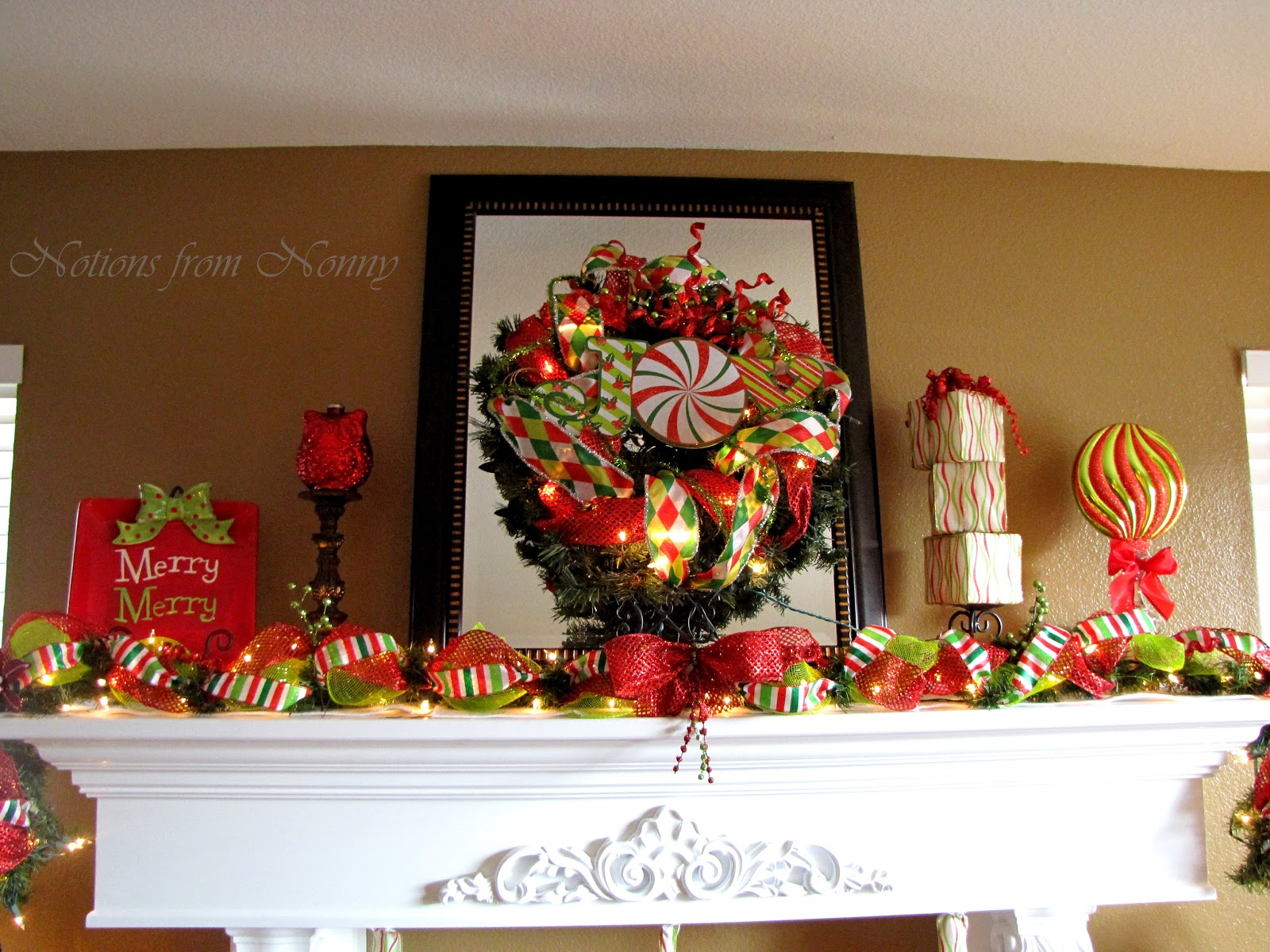 Christmas Decorating Ideas Dollar Tree : Notions from nonny christmas decor