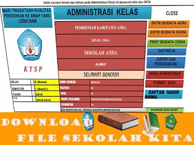 File Aplikasi Admistrasi Kelas dan Guru 2016 - 2017