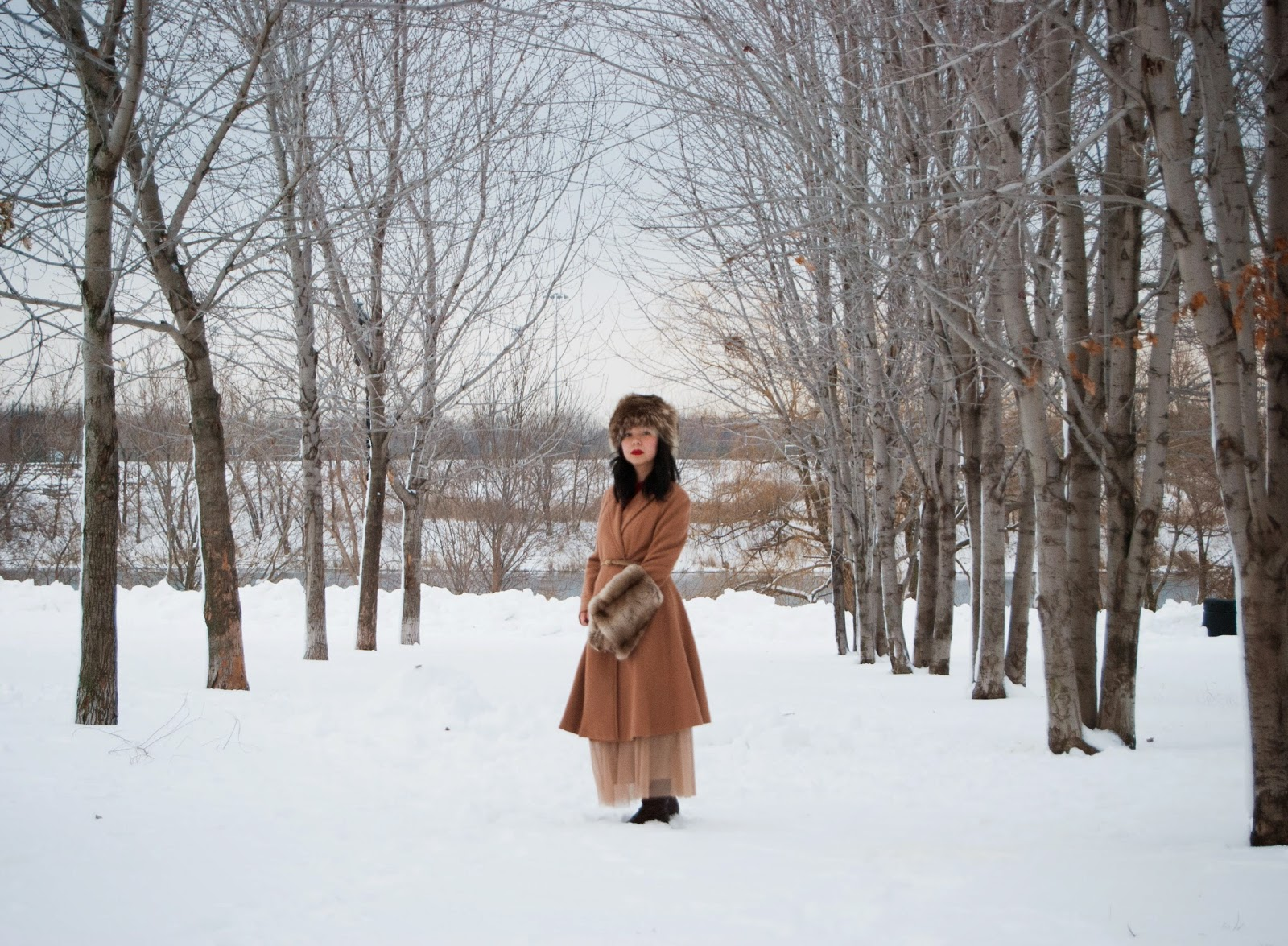 Montreal Fashion Blog Bouquet Of Frocks A Russian Winter