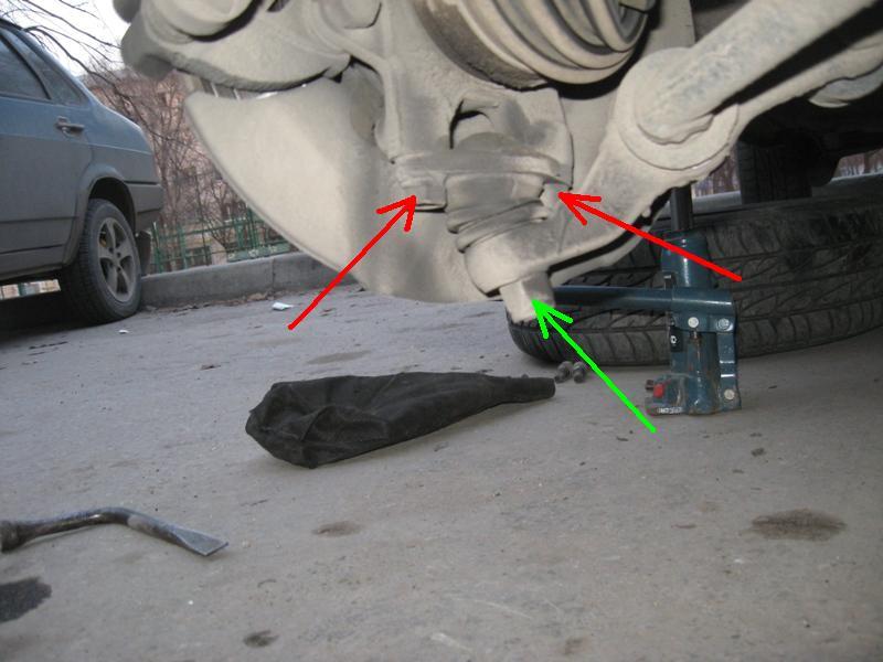 Как проверить шаровую на калине
