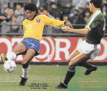 Soccer Nostalgia May 23 1987 Republic Of Ireland 1 Brazil 0