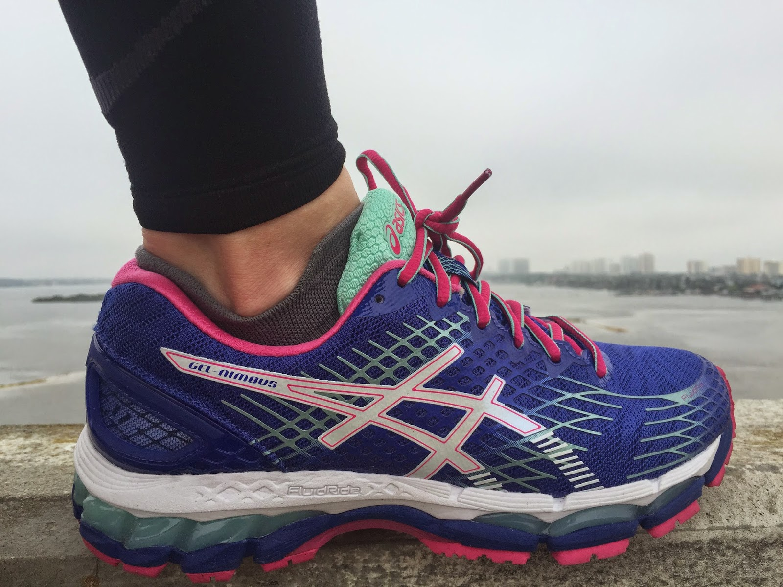 asics gel nimbus 17 sole review