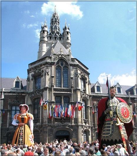 Giants of Douai Festival - Φεστιβάλ Γιγάντων