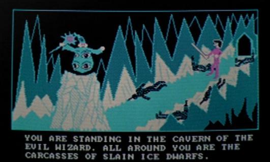 cult film freak evil ice wizard computer game in big