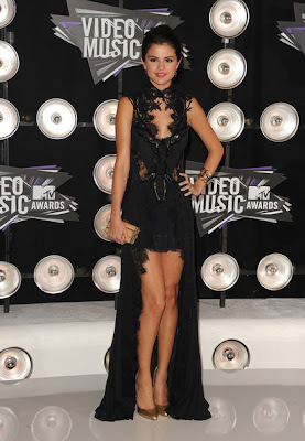Selena Gomez Black Dresses & Skirts