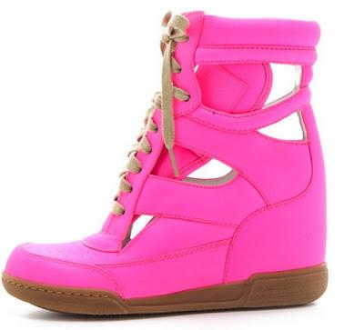 estilo moda neon rosa