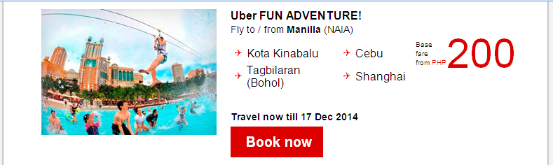 Air Asia: Uber Fun, Uber Cool,Uber Low fare P1