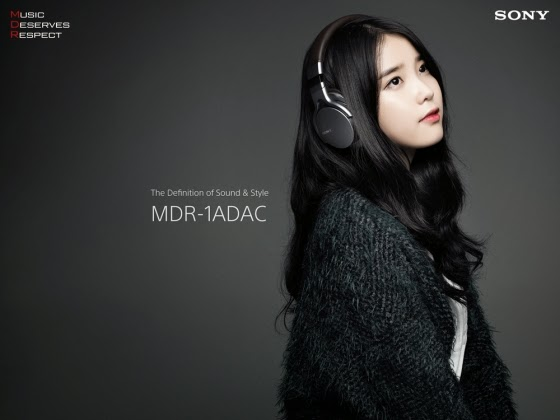 IU & You Hee Yeol are chosen as exclusive models of Sony's MDR brand