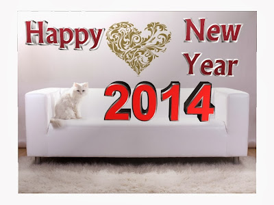 Latest and Unique Happy New Year Greetings Images 2014 Backgrounds Wallpapers