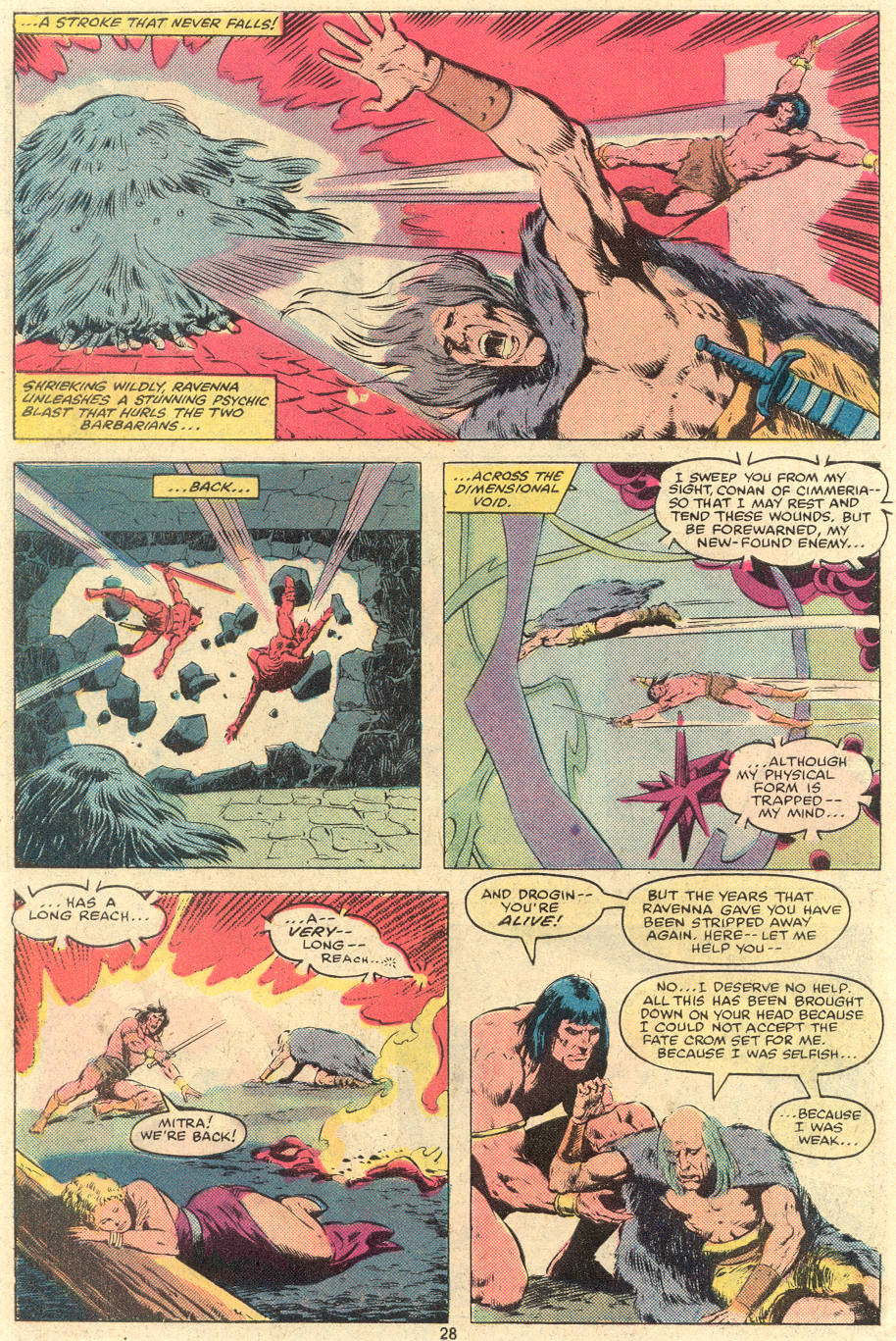 Conan the Barbarian (1970) Issue #119 #131 - English 22
