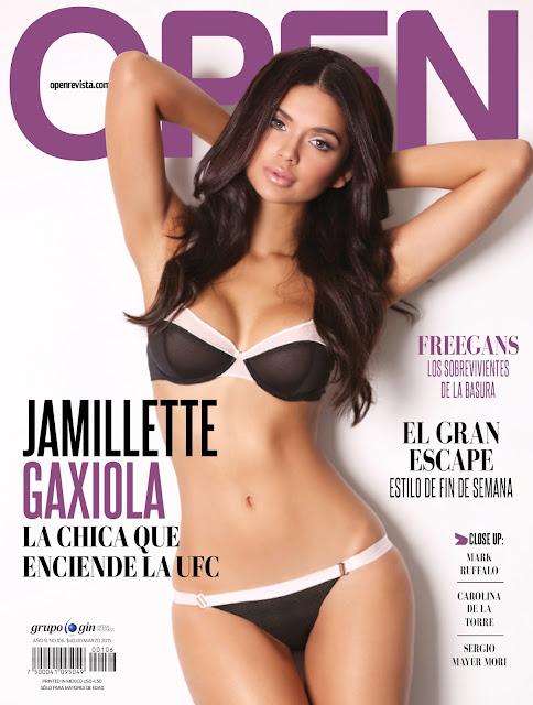 FOTOS: Jamillette Gaxiola Revista Open México Marzo 2015