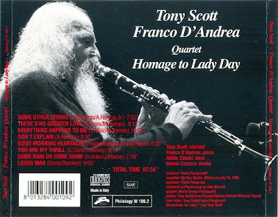 Franco D'Andrea Quartet Live
