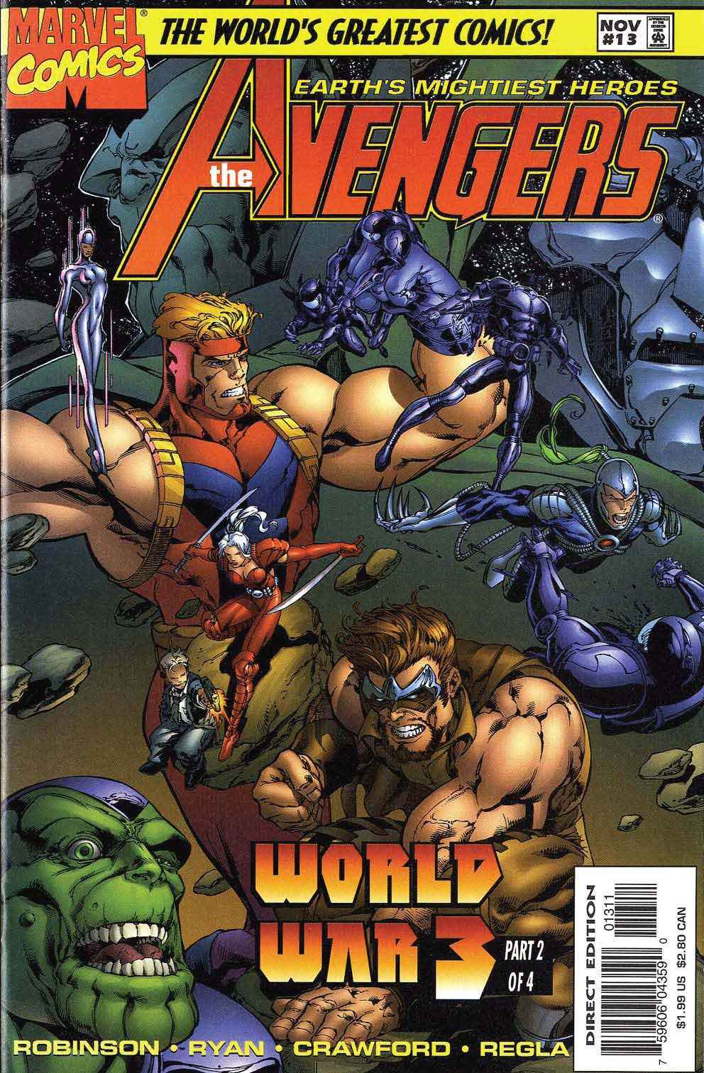 Captain America (1996) 12c Page 1