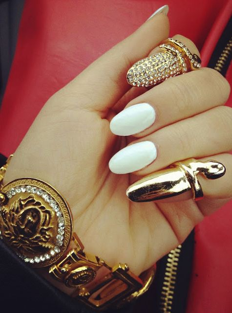 Oval Nail Designs Tumblr
