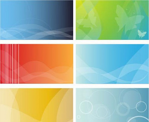 Free Business Card Background Designs