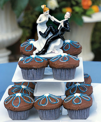Bonecos para bolo de casamento