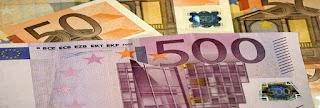 varios billetes de euros