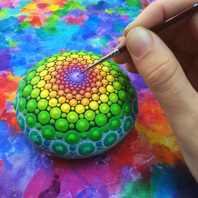 Piedras Pintadas, Arte Natural