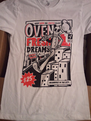 "Oven Fresh Dreams x Miguel Abreu Collaborate & Dream T-Shirt ""The Shinigami Baker"""