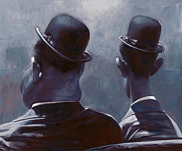 Laurel & Hardy - New Pop Realism - Sebastian Krüger 1963