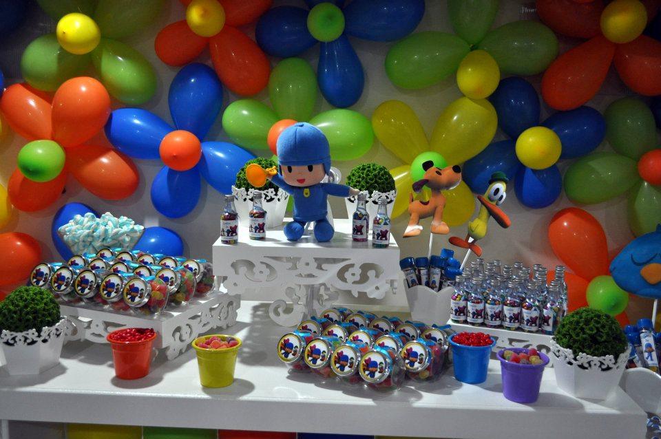 Amado Atelier Feito à Mão: Mesa de Aniversário Pocoyo AV02