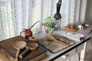 caroline davis stylist, trend daily blog, vintage, succulents, plants, kitchenalia, homebarn