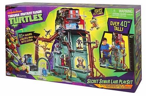 ninja turtle secret sewer lair instructions